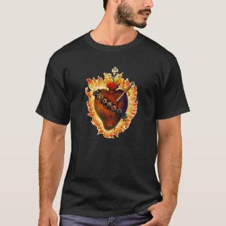 T-shirt Coeur impeccable de chemise de Mary