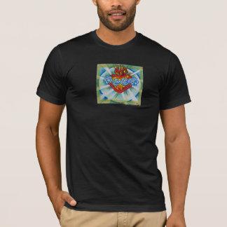 T-shirt Coeur impeccable sacré de Mary