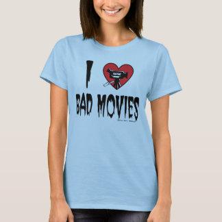 T-shirt (Coeur) mauvais tee - shirt des films I