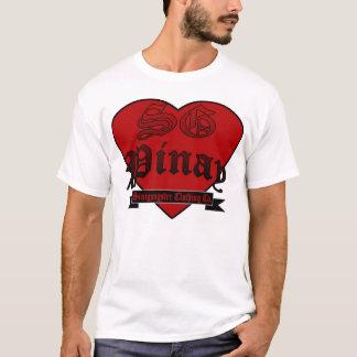 T-shirt coeur pinay