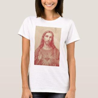 T-shirt Coeur sacré de cru de Jésus