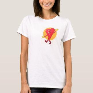 T-shirt Coeur sain heureux