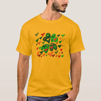 T-shirt Coeurs colorés