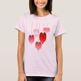 T-shirt Coeurs une chemise d'abondance