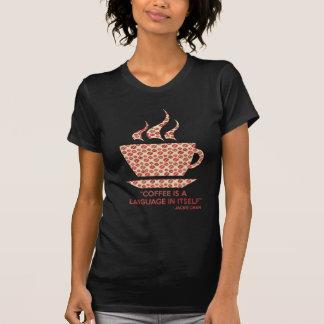 T-shirt Coffee t-shit avec phrase de Jackie Chan.