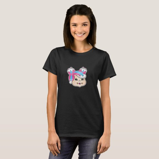 T-shirt Coiffure gourmande