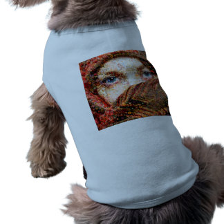 T-shirt Collage-oeil-fille bédouine de fille-oeil de