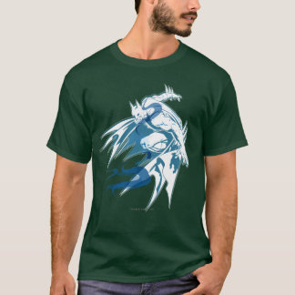 T-shirt Collage tonal de l'eau de Batman