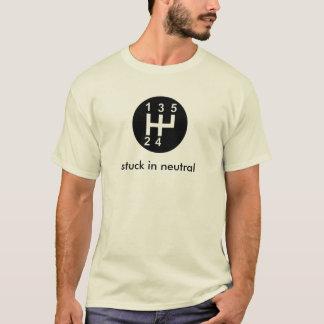T-shirt Collé dans le neutre