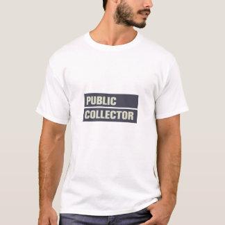 T-shirt Collecteur public
