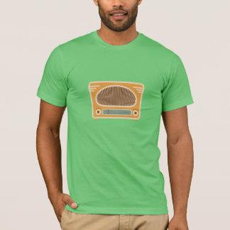 T-shirt Collecteur vintage de radio de tube