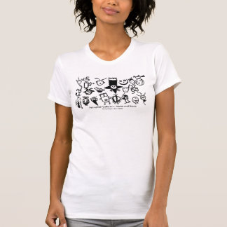 T-shirt Collection, masques et têtes de pétroglyphe