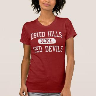 T-shirt Collines de druide - diables rouges - hautes -