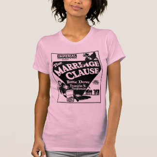 T-shirt Colombe Francis X. Bushman MARRIAGE CLAUSE 192 de