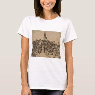 T-shirt Colonel Roosevelt et son Rough Riders