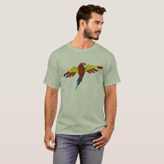 T-shirt coloré de mandala de perroquet de yuyass