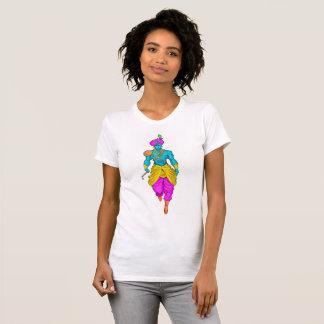 T-shirt coloré par Krishna de seigneur