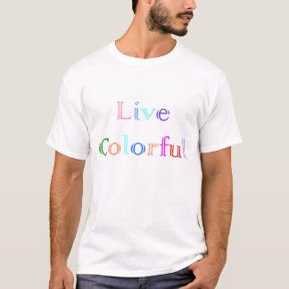 T-shirt Coloré vivant