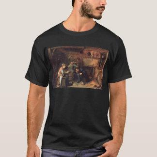 T-shirt Combat de paysans d'Adriaen Brouwer