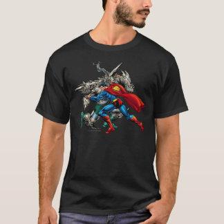 T-shirt Combats de Superman ennemis