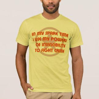 T-shirt Combattant de crime