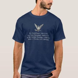 T-shirt Combattants civils de famille de Burk-Campbell