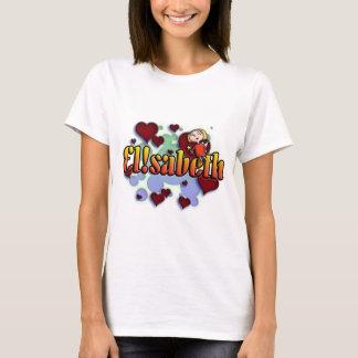 T-shirt Comble nom Elisabeth with ! as i