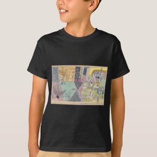 T-shirt Comiques asiatiques par Paul Klee