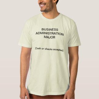 T-shirt Commandant de gestion