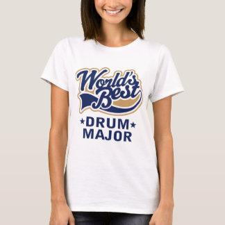 T-shirt Commandant de tambour des mondes d'école le