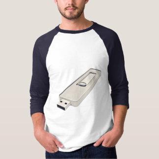 T-shirt Commande d'instantané d'USB