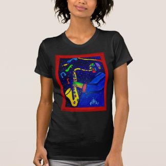T-shirt Comme l'homme de jazz par Piliero