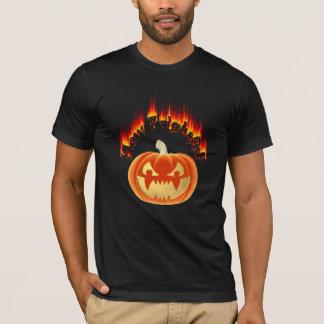 T-shirt Comment citrouille mauvais terrible de Halloween