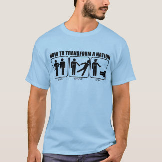T-shirt Comment transformer une nation