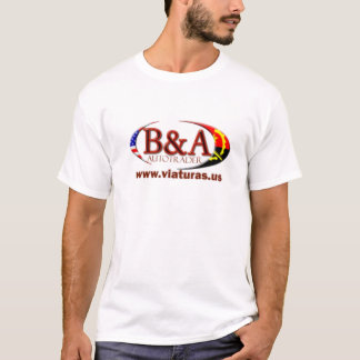 T-shirt Commerçant d'automobile de B&A
