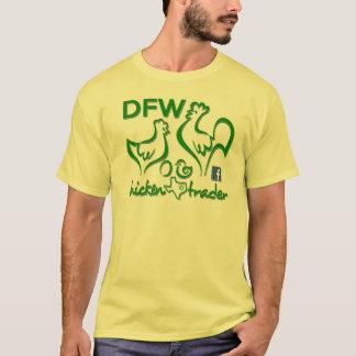 T-shirt Commerçant de poulet de DFW/graphiques verts