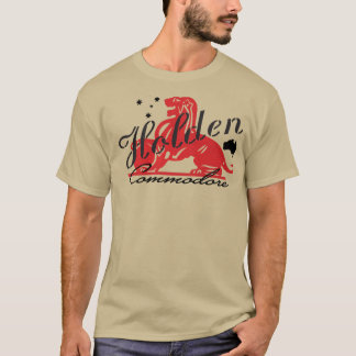 T-shirt Commodore de Holden
