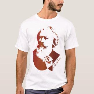 T-shirt Compositeur Johannes Brahms de musique classique