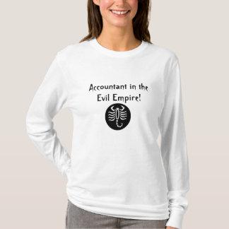 T-shirt Comptable dans l'empire mauvais !