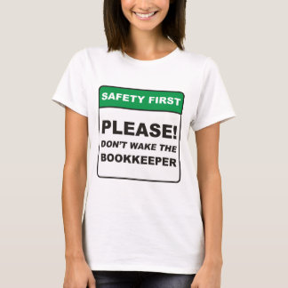 T-shirt Comptable/sillage