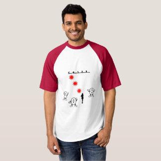 T-shirt Compte à rebours de nouvelle année