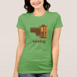 T-shirt conception analogue de film de 35mm personnalisée