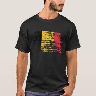 T-shirt Conception belge fraîche de drapeau
