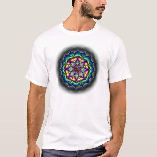 T-shirt Conception chargée superbe de mandala pour les