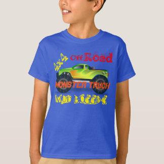 T-shirt Conception de camion de monstre