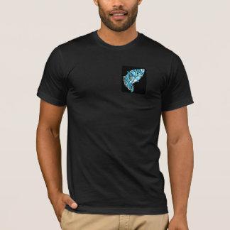 T-shirt Conception de chemise de poissons de la ketmie des