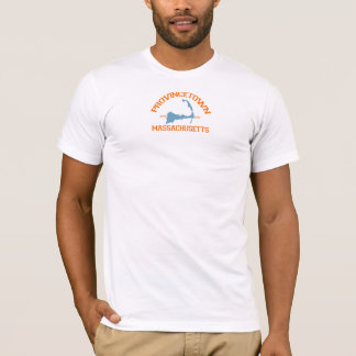 """T-shirt Conception de """"fac"""" de Provincetown"""
