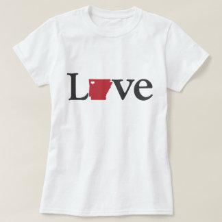 T-shirt Conception de l'Arkansas d'amour