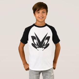 T-shirt conception de mite - les enfants court-circuitent
