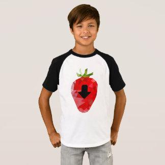 T-shirt Conception douce de garçon d'enfant